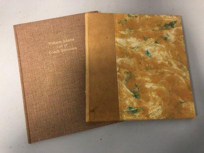 Catalogue de pièces de carrosserie William...