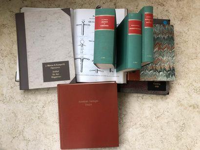 Lot d'ouvrages en fac-similé bien reliés...