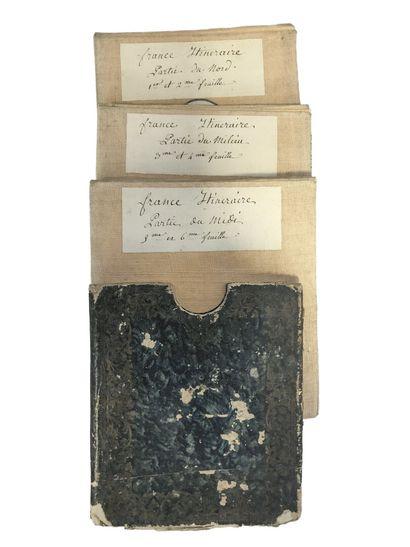Rare carte des Postes de France, Paris chez...