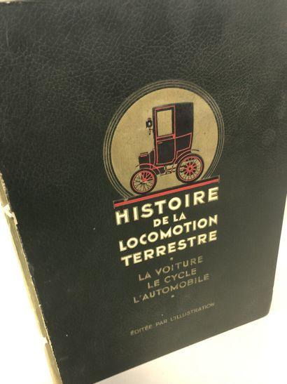 Histoire de la locomotion terrestre, la voiture,...