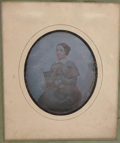 Daguerréotypiste français  Trois portraits...