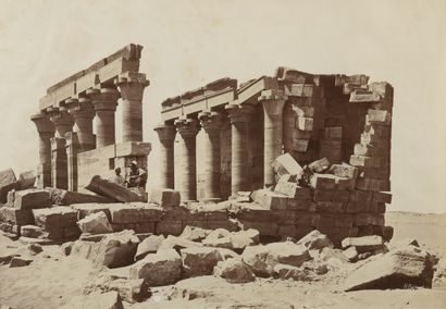 Henri BÉCHARD (1869-1890)  Vues d'Egypte,...