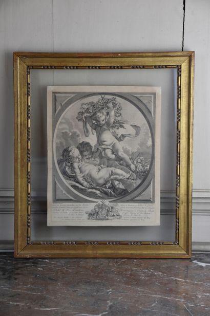 D'après François Boucher (1703-1770)  Suite...