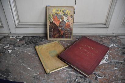Emile Hinzelin, Foch, 1918  Belles illustrations...