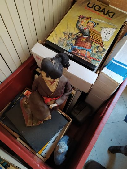 Fort lot de livres sur les samouraïs