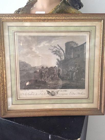 D'après Jan MIEL (1599-1663) et gravé par...