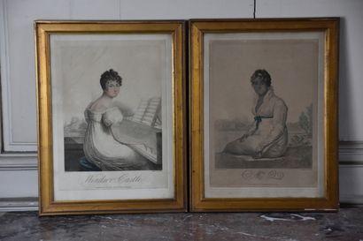D'après Huet Villiers (1772-1813)  Windsor...