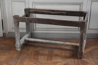 Piètement de table de la fin du XVIIe siècle...