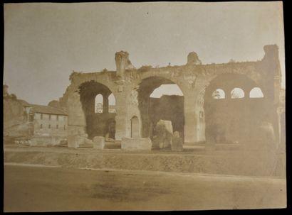 Eugène Le Dien (1817-1865)  Ruines de la...