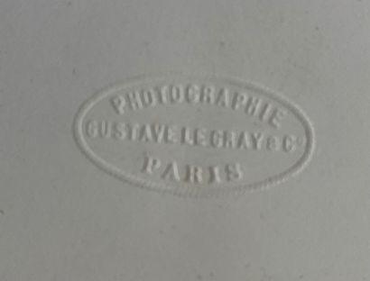 Gustave Le Gray (1820-1884)  Le Chêne creux, Fontainebleau, c. 1856  Épreuve albuminée,...