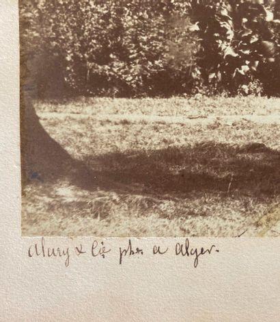 Jean-Baptiste Antoine Alary (1811-1899) et Julie Geiser (1808-1874)  Bois des Oliviers...