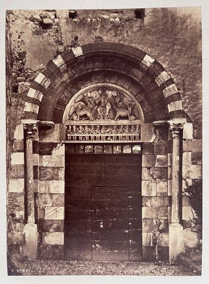 Victor Muzet (1828-18..)  Portail du prieuré...