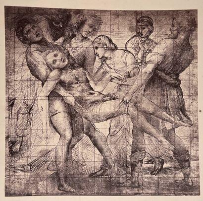 Fratelli Alinari d'après Michel-Ange, Raphaël et Del Sarto  Tombeau de Julien de...