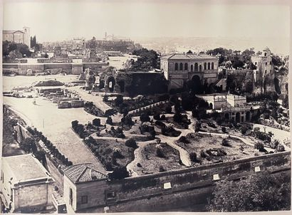 Giuseppe Ninci (1823-1890)  Les jardins Farnèse...