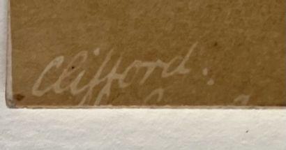 Charles Clifford (1821-1863)  Aqueduc de Segovie dans la ville, 1853  Papier sale...