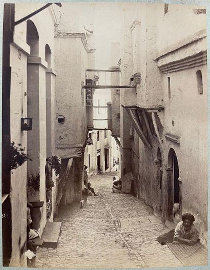 Jean Geiser, La Casbah d'Alger, 5 épreuves albuminées  Gudmez Frères, Constantinople,...