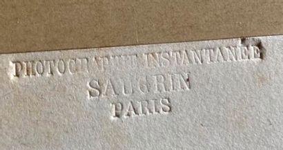 Louis Saugrin (1814-1892)  Les soldats de l'Empire, études instantanées vers 1859...