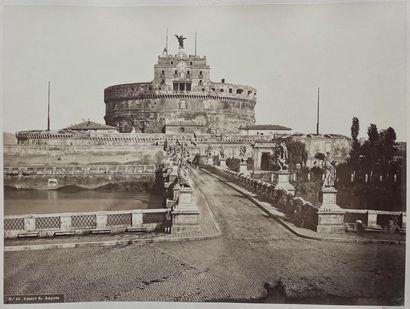 Pompeo Molins (1827-1893)  Chateau Saint-Ange...