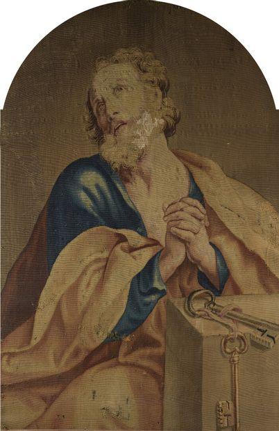 Flandres, XVIIIe siècle  Portrait de saint...