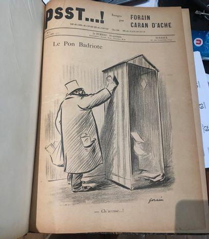PSST....(1898-1899). par Forain et Caran...