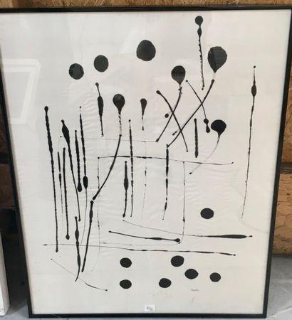 Michelle Senlis (1933 - 2020)  Deux composition...