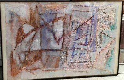 Michelle Senlis (1933 - 2020)  Deux compositions...