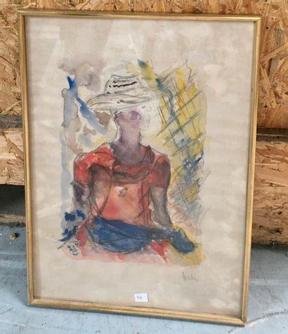 Michelle Senlis (1933 - 2020)  Portrait de...
