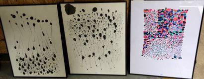 Michelle Senlis (1933 - 2020)  Trois compositions...