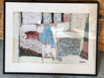 Michelle Senlis (1933 - 2020)  Composition...