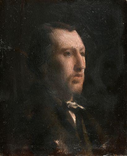 Charles SELLIER (Nancy 1830-1882)  Portrait...