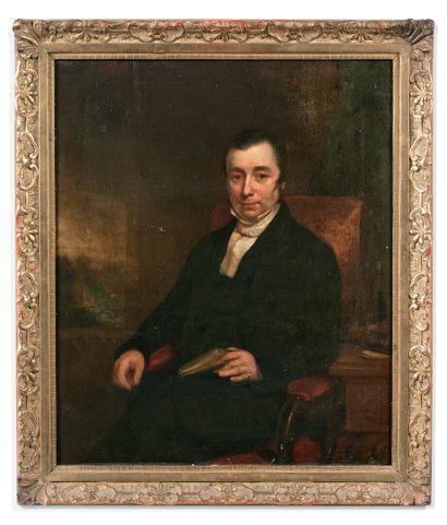 École ANGLAISE vers 1820  Portrait présumé...