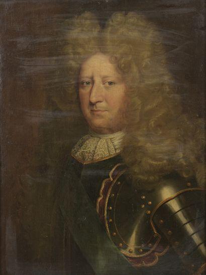 École FRANÇAISE vers 1700  Portrait du maréchal...