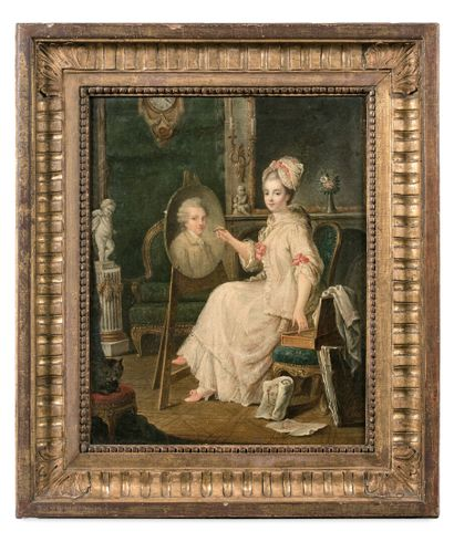 Attribué à Louis Lié PERRIN-SALBREUX (1753-1817)...