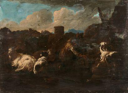 Philipp ROOS dit ROSA da TIVOLI (1655/57-1706)...