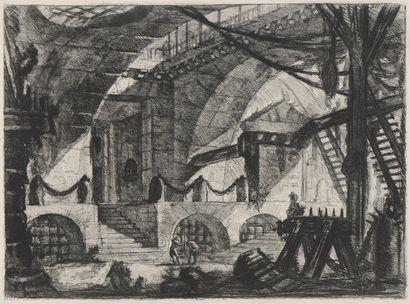 École française du XIXe siècle, d'après Piranèse...