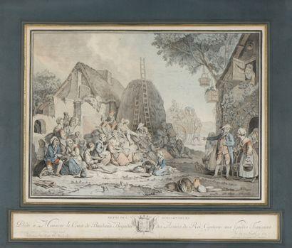 D'après Alexandre Wille , gravé par Jeaninnet...