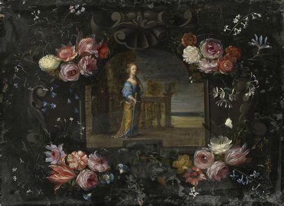 Attribué à Michel BOUILLON (actif entre 1638...