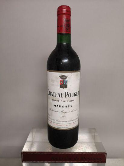 1 bouteille Château POUGET - 4e GCC Margaux...