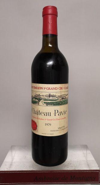 1 bouteille Château PAVIE - 1er Grand cru...