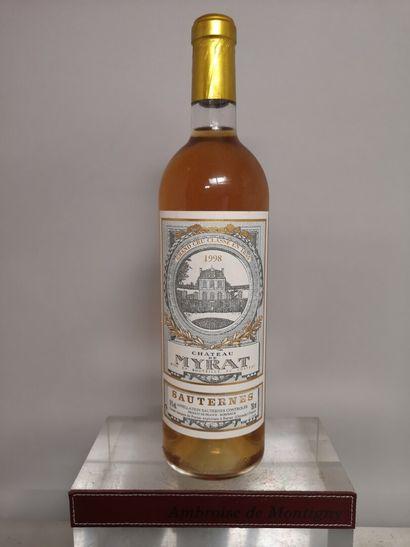 1 bouteille Château de MYRAT - 2e Cru Classé...