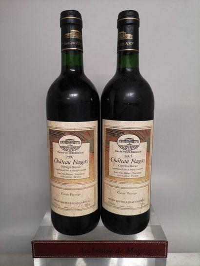 2 bouteilles Château FOUGAS