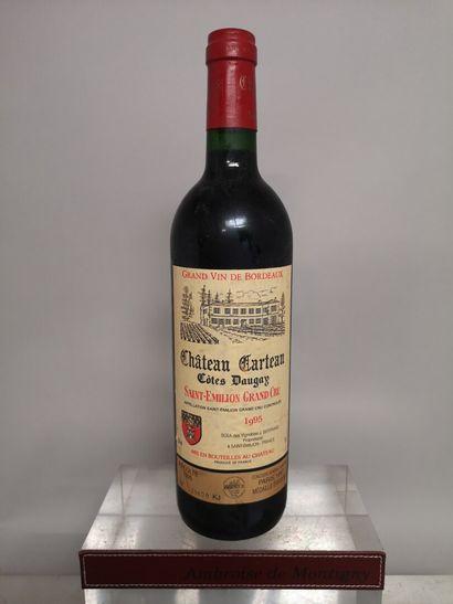 1 bouteille Château CARTEAU Côtes DAUGAY...
