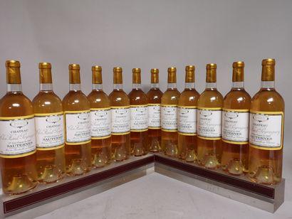 12 bouteilles Château CLOS HAUT PEYRAGUEY...
