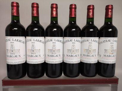 6 bouteilles Château LARRUAU - Margaux 2...
