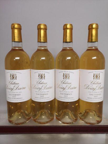 4 bouteilles Château DOISY DAENE - 2e Cru...