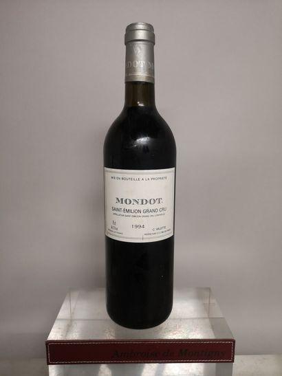 1 bouteille MONDOT 2nd vin du Château TROPLONG...