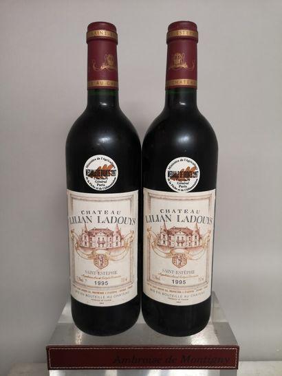 2 bouteilles Château LILIAN LADOUYS - Saint...