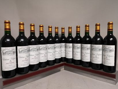 12 bouteilles Château BELGRAVE - 5e GCC Haut...