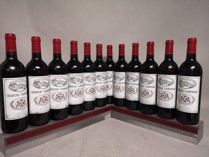 12 bouteilles Chateau CAMENSAC - 5e GCC Haut...