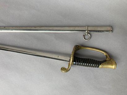 SABRE D'OFFICIER D'INFANTERIEE, modèle 1855